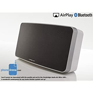 Minx Air 100 Wireless Music System with Airplay, Bluetooth & Internet Radio