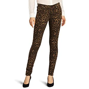 Big Star Women's Alex 5 Pocket Jean, Leopard, 28