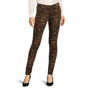 Big Star Women's Alex 5 Pocket Jean, Leopard, 28