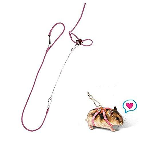 jtengyao-popular-adventure-land-hamster-gerbil-pet-cage-playhouse-harness-pink