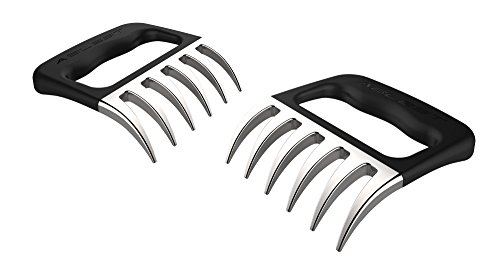 Ablest 2 Pcs BBQ Pulled Pork Stainless Steel Barbecue Shredder Bear Claws Meat Handler Carving Forks (Stainless Steel Meat Shredder compare prices)