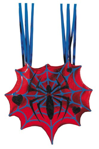 Disguise Spidergirl Spiderman Costume Purse Trick or Treat Bag