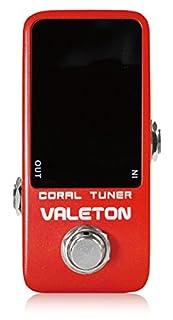 VALETON CORAL TUNER 早い反応の安定したチューナー! ヴェイルトン コーラルチューナー 国内正規品