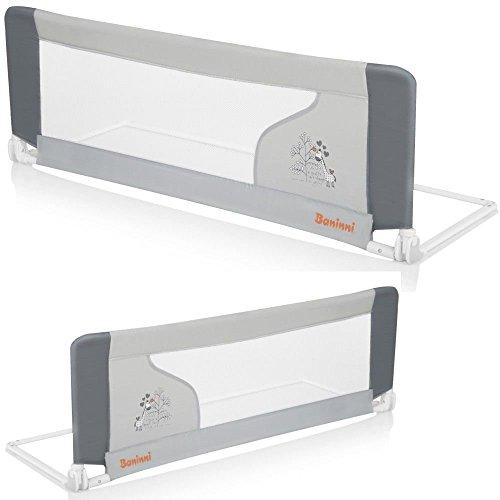 Baninni-Bett-Schutzgitter-Bettrailing-fr-Kinderbett-120cm-Rausfallschutz-Gitter