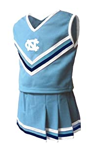 North Carolina Tarheels 2-Pc Cheerleader Set Toddler Spirit Wear by Little King