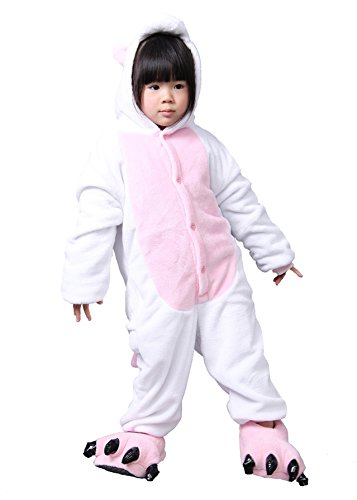 FashionFits Kid's Unisex Anime Jumpsuit Onesie Pajama Loungewear Cosplay Costume