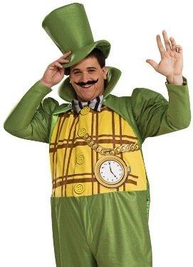 Wizard of Oz Emerald City Mayor Halloween Costume Adult Standard up to 44