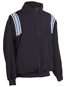 Buy Adams USA Smitty Umpire 1 2 Zip Long Sleeve Pullover Jacket by Adams USA