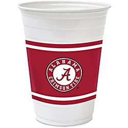 Hefty College Cups, Alabama Crimson Tide, 18 oz, 84 Cups
