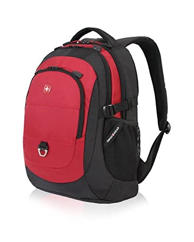SwissGear 18 Laptop Backpack, Black/Red