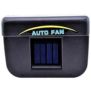 Victsing Solar Power Car Auto Cool Cooler Fan Air Ventilation Vent System from VicTsing
