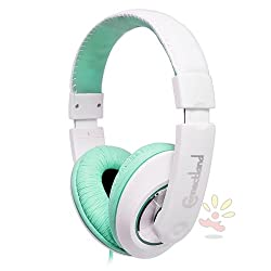 Syba Compatible With Apple iPad Mini Teal Circumaural Headset with 40mm Speaker Driver (CL-AUD63035)