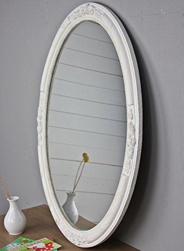 elbmbel-Wandspiegel-Oval-in-wei-antik-mit-Patina-77-x-57cm-im-Landhausstil-mit-Holzrahmen