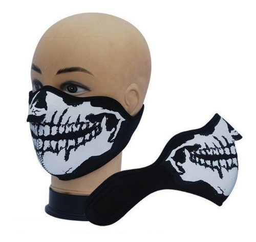 7X--Produit-Original-Masque-Protection-Demi-Cagoule-Neoprene-Ghost-Tete-de-mort-Skull-Taille-unique-rglable-Airsoft-Paintball-Outdoor-Ski-Snow-Surf-Moto-Biker-Quad