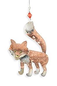 Pilgrim Imports Red Fox Fair Trade Ornament