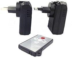 Krazzy Collection ACP32GBWallChgrF-188 5 MP Spy Camera (Black)