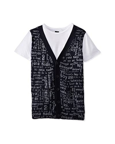 Desigual Men's Sweater Vest Tee