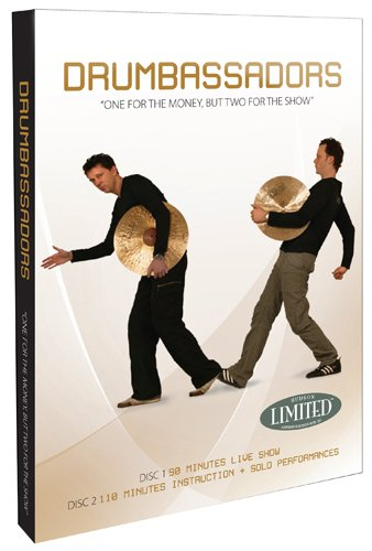 Drumbassadors One for the Money But Two for the Show 2 DVD Set