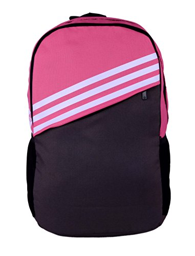 adidas St BP 2A Polyester Backpack, Men's (Semi Solar Pink and Black)