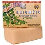 Auromere Ayurvedic Bar Soaps Sandalwood-Turmeric 2.75 oz. (a)
