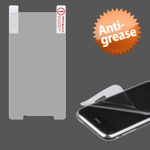 Cell Accessories For Less (Tm) Motorola Xt875 (Droid Bionic) Anti-Grease Lcd Screen Protector/Clear + Bundle (Stylus & Micro Cleaning Cloth) - By Thetargetbuys