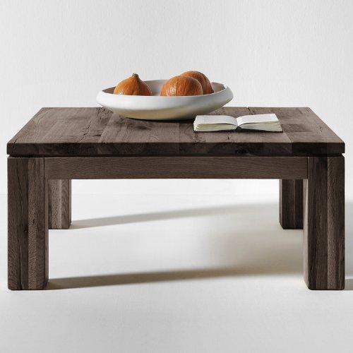 Sales Fever madera reciclada de madera maciza - 90 x 90 cm roble aceite Ahumado ZORA