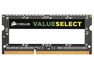 Corsair CMSO2GX3M1A1333C9 Mémoire RAM DDR3 SO 1333 2 Go COR CL9 (6.7 x 3.1 x 0.4 cm)
