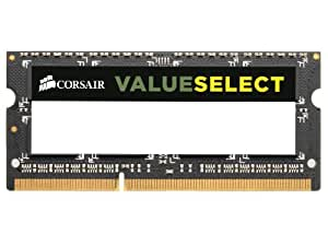 Corsair CMSO2GX3M1A1333C9 Mémoire RAM DDR3 SO 1333 2 Go COR CL9 (6.7 x 3.1 x 0.4 cm)
