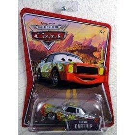 Disney / Pixar CARS Movie 1:55 Die Cast Car Series 3 World of Cars Darrell Cartrip - 1