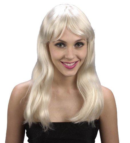 Imagen 1 de Blonde, long haired wig for women. (peluca)