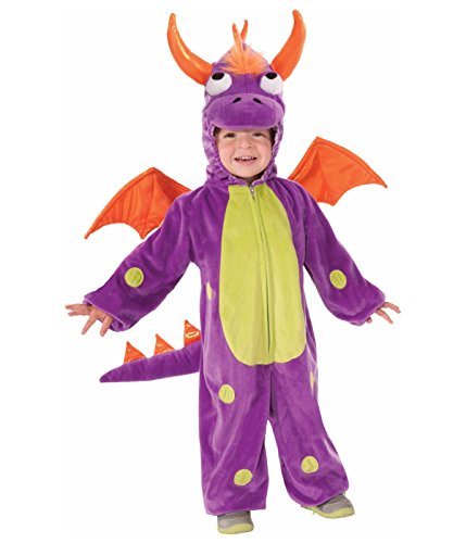 Kids Purple Monster Child Costume Toddler Size 2-4