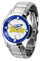 Toledo Rockets NCAA Mens Titan Steel Watch