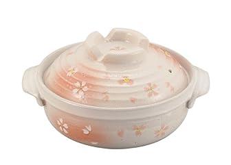 パール金属 土鍋8号 華さくら L-1662