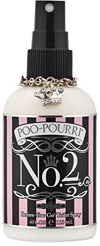 Poo-Pourri Before-You-Go Toilet Spray 4-Ounce Bottle, No. 2