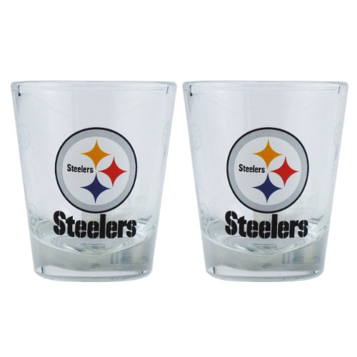 NFL Pittsburgh Steelers Boelter Shot Glasses 2-pack from SteelerMania