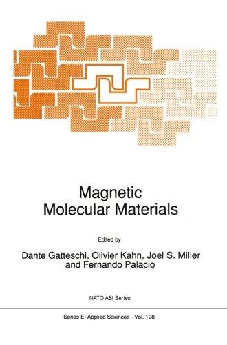 Magnetic Molecular Materials (Nato Science Series E:)