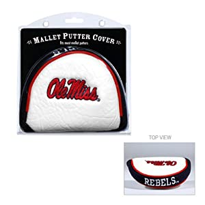 Brand New Mississippi Rebels NCAA Putter Cover - Mallet by Things for You