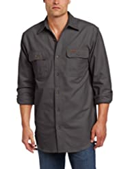 Carhartt Men's Big-Tall Chamois Long Sleeve Shirt