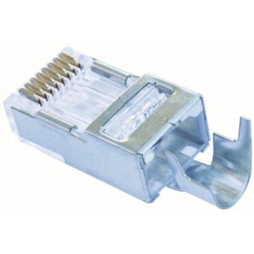 Platinum Tools 202022J EZ-RJ45 Shielded CAT5E/6 External Ground Connector, 50-Pack