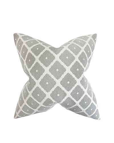 The Pillow Collection 18 Soulk Pillow, Grey