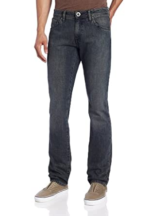 Volcom Men's Vorta Jean, Burner, 30