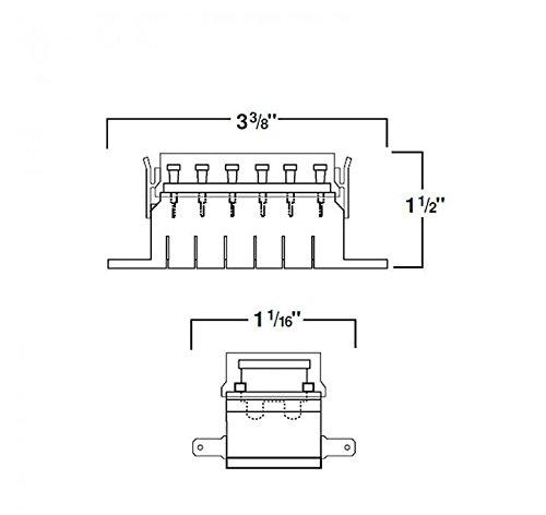 hella h84960091 6 way lateral single fuse box vehicles parts vehicle parts accessories motor
