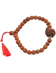 Jewels River Ganesha Rudraksha Bracelet For Prosperity