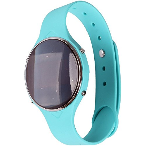 Olatec® U Watch Uu Blue Smartwatch Bluetooth Wristwatch Pedometer Multimedia Anti-lost Remote Capture for Android Smartphone and Ios Iphone