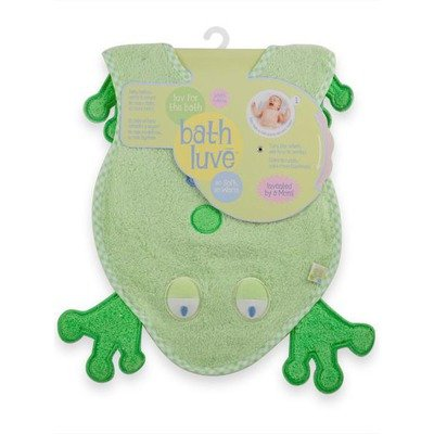 Just Born Bath Luve Towel Color: Green