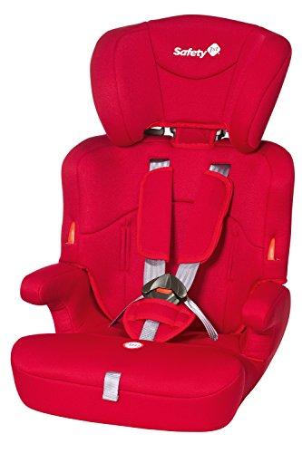 Safety 1st 85127650 Ever Safe Seggiolino Auto, Rosso/Full Red