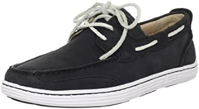Sperry Top-Sider Men's Harbor Cup 3 Eye Boat Shoe,Black,10.5 M US
