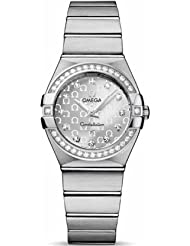 On Sale Omega Women's 123.15.27.60.52.001 Constellation Silver Dial Watch