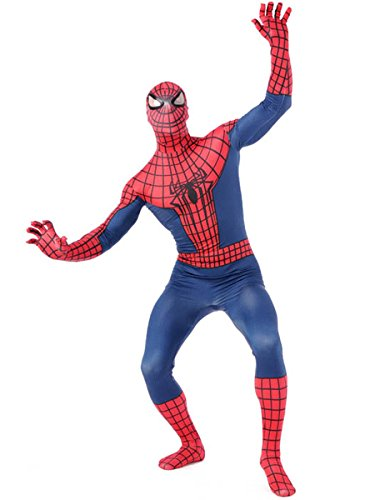 Amazing Spiderman Quality Adult Cosplay Costume Halloween Zentai - S to XXXL