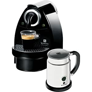 Single Cup Coffee Maker Nespresso : Amazon.com: Nespresso C100-US-AERO-B Essenza Automatic Single-Serve Espresso Machine with ...